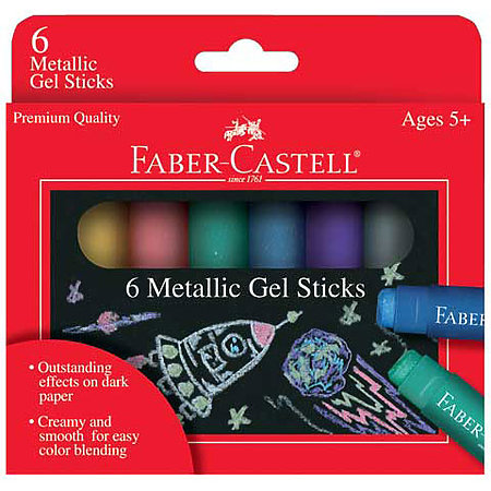 Metallic Gel Sticks Set