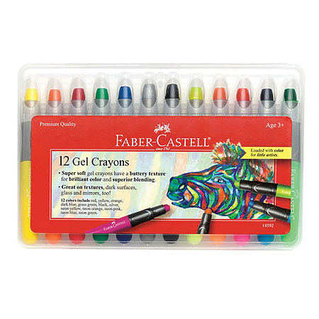 Gel Crayons Sets