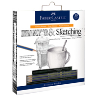 Creative Studio Getting Started Drawing Pencil Set