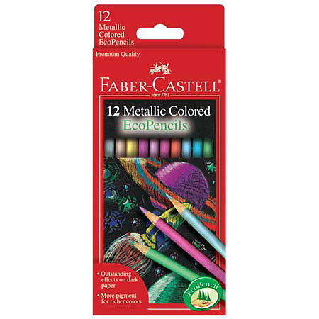 Metalllic Colored EcoPencils Set