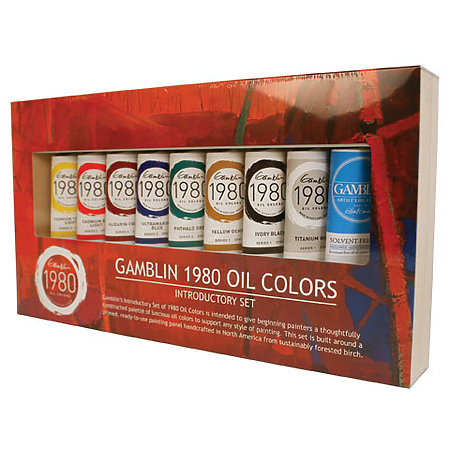 1980 Oil Colors Introductory Set