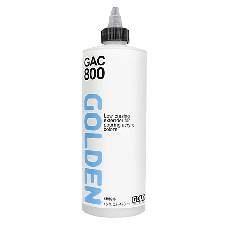 GAC 800   Acrylic Extender for Pouring