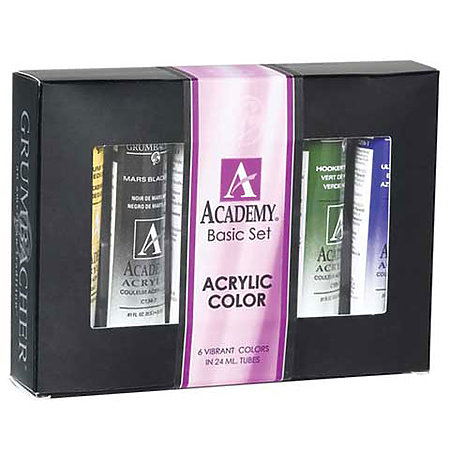 Academy Acrylics Color Sets