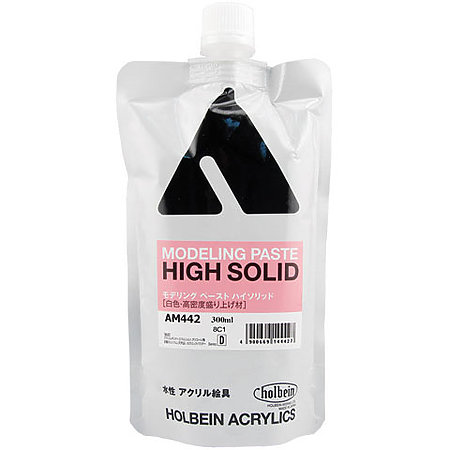 Artist Heavy Body Acrylic High Solid Modeling Paste