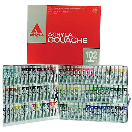 Acryla Gouache 102-Color 20ml Set