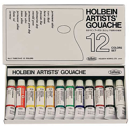 Designers  Gouache 12-Color 5ml Artist Set