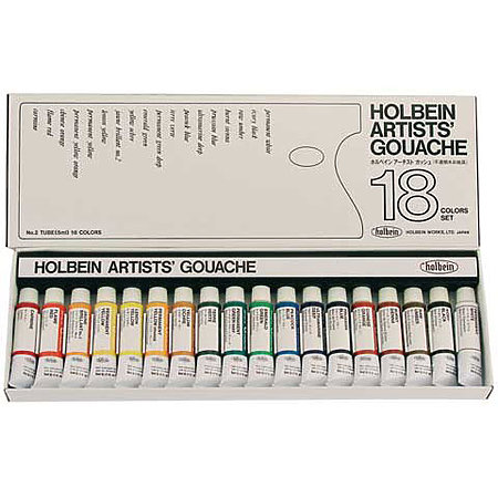 Designers  Gouache 18-Color 5ml Artist Set
