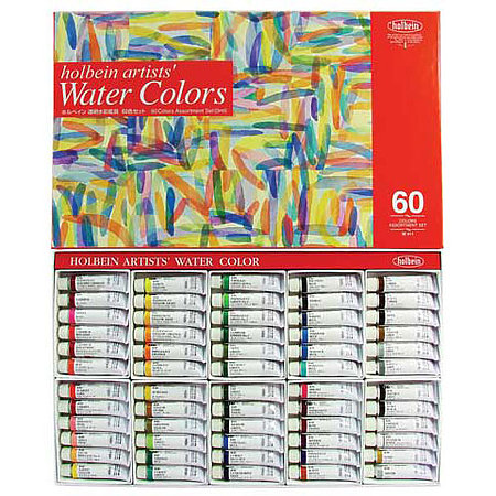 Artists  Watercolor 60-Color 5ml Set