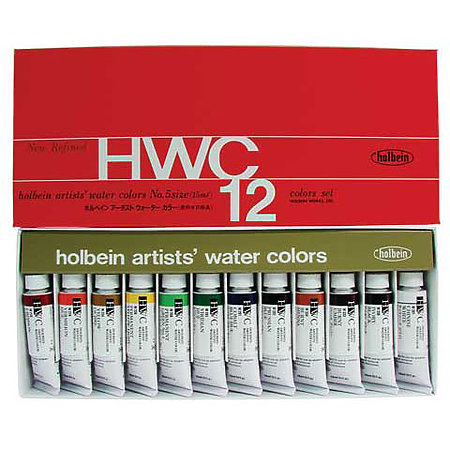 Artists  Watercolor 12-Color 15ml Set