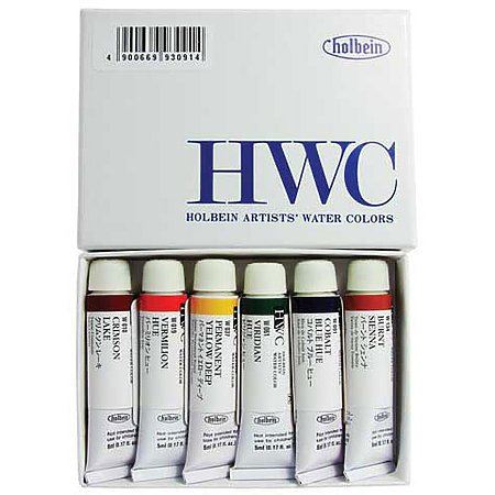 Artists  Watercolor 6-Color Sampler 5ml Set