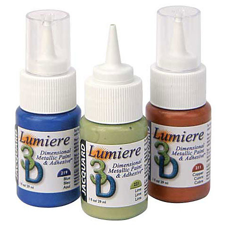 Lumiere 3D Adhesive & Dimensional Paint