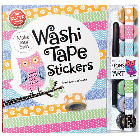 Make Your Own Washi Tape Stickers Kit