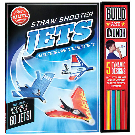 Straw Shooter Jets Kit