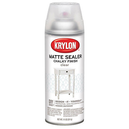 Chalky Finish Spray Paint Clear Sealer