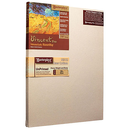 Vincent Pro Unprimed Canvas
