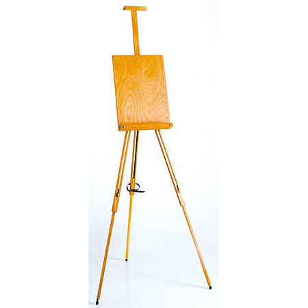 Field Easel with Adjustable Panel