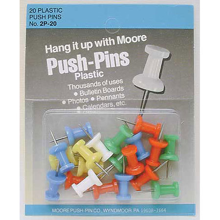 Push-Pins Carded