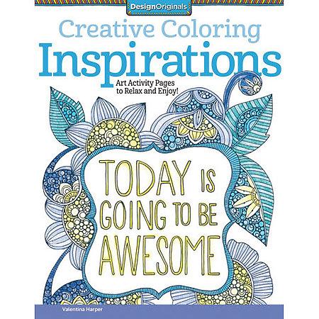 Creative Coloring Books Design Originals