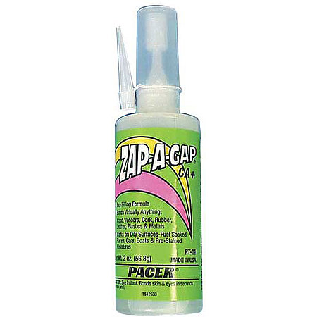 Zap-A-Gap CA Plus Adhesives