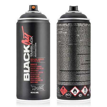 Montana BLACK High Pressure Cans   BLACKOUT & WHITEOUT