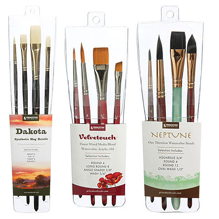 Princeton Professional 4-Brush Sets