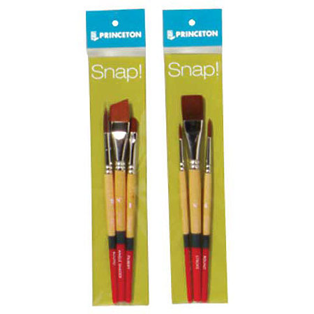 Snap Gold Taklon Brush Sets