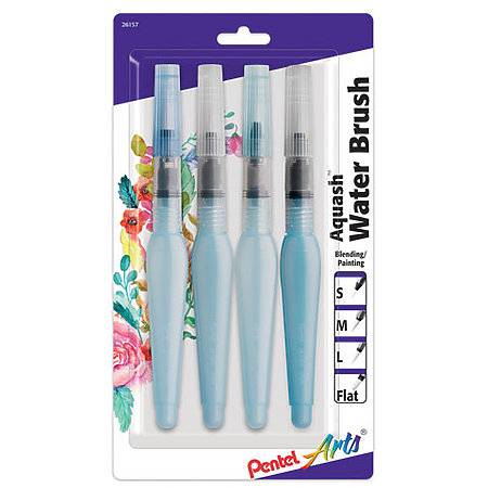 Aquash Water 4-Brush Set