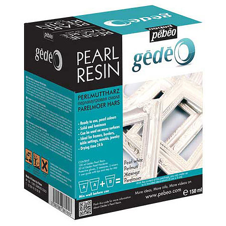 Gedeo Pearl Resin