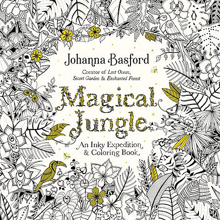 Magical Jungle:  An Inky Adventure and Coloring Book