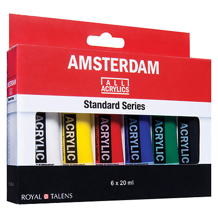 Amsterdam Standard Series Acrylic Paint Sets