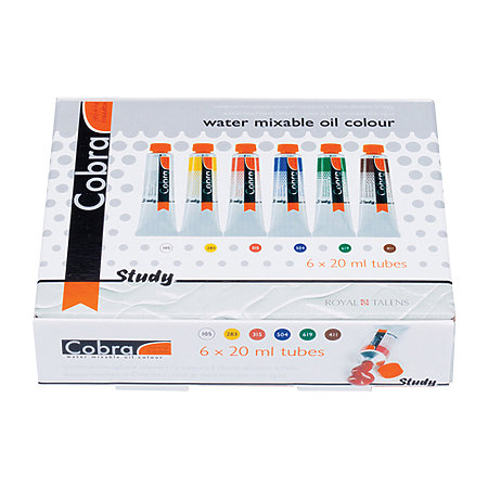 Cobra Study Water Mixable Oil Colour Starter Set