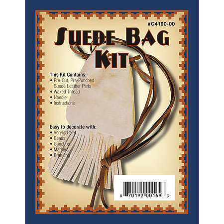 Leathercraft Suede Bag Kit