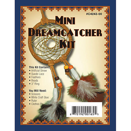 Leathercraft Mini Dreamcatcher Kit