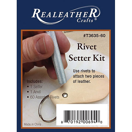 Leather Rivets & Setter Kit