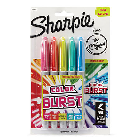 Sharpie Color Burst Marker Sets