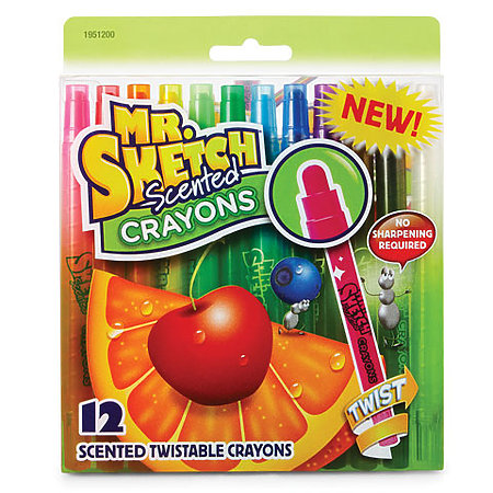Mr. Sketch Twist Crayon Sets