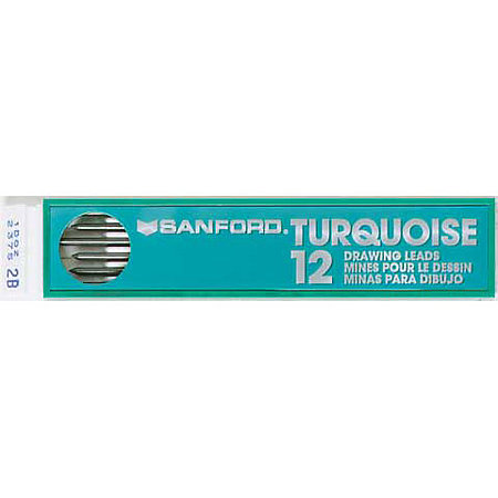 Turquoise Drawing Leads