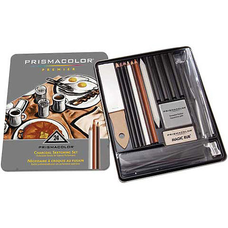 Prismacolor Charcoal Sketching Set