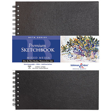Beta Series Premium Hard-Cover Sketch Books