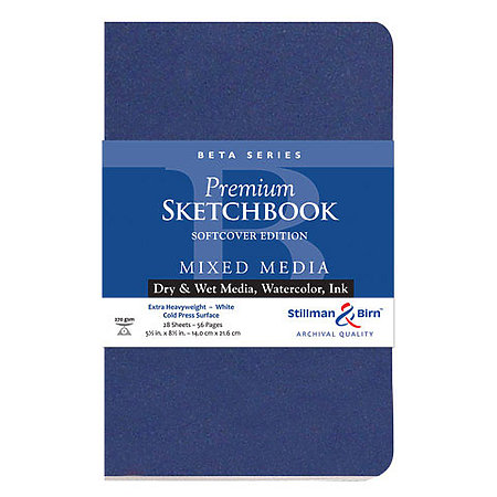 Beta Series Premium Soft-Cover Sketch Books
