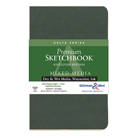 Delta Series Premium Soft-Cover Sketch Books