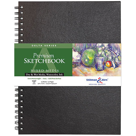 Delta Series Premium Hard-Cover Sketch Books
