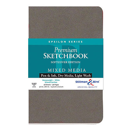 Epsilon Series Premium Soft-Cover Sketch Books