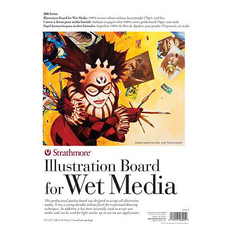 Illustration Board for Wet Media   500 Series