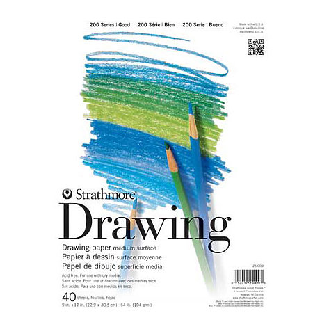 Drawing Paper Pads   200 Series