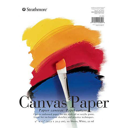 Canvas Paper Pad   200 Series