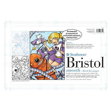 Sequential Art Bristol Paper Pads   200 Series