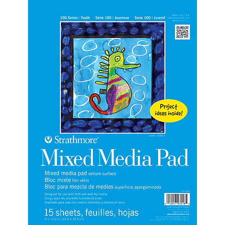 Kids Mixed Media Paper Pad