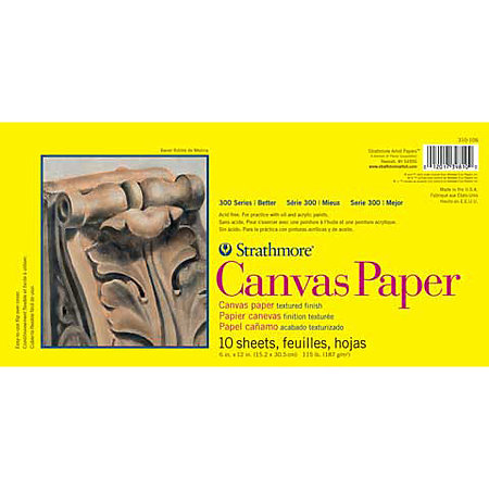 Canvas Paper Pads   300 Series