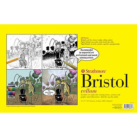 Sequential Art Bristol Paper Pads   300 Series